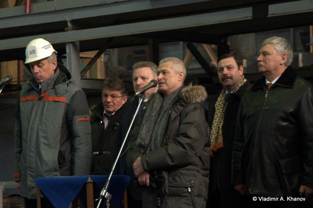 Выступление А.С. Астраханцева